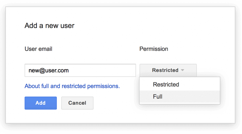 Add a new user to GWT pop-up