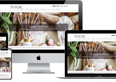The Noor Company – e-commerce website