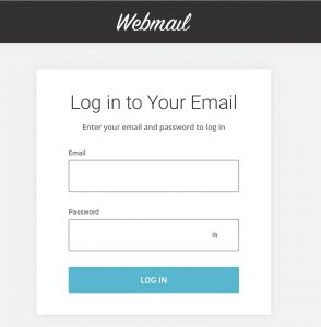 Login to your email account