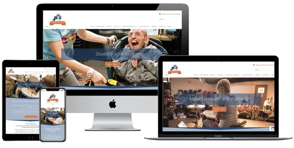 JDT Website After Redesign
